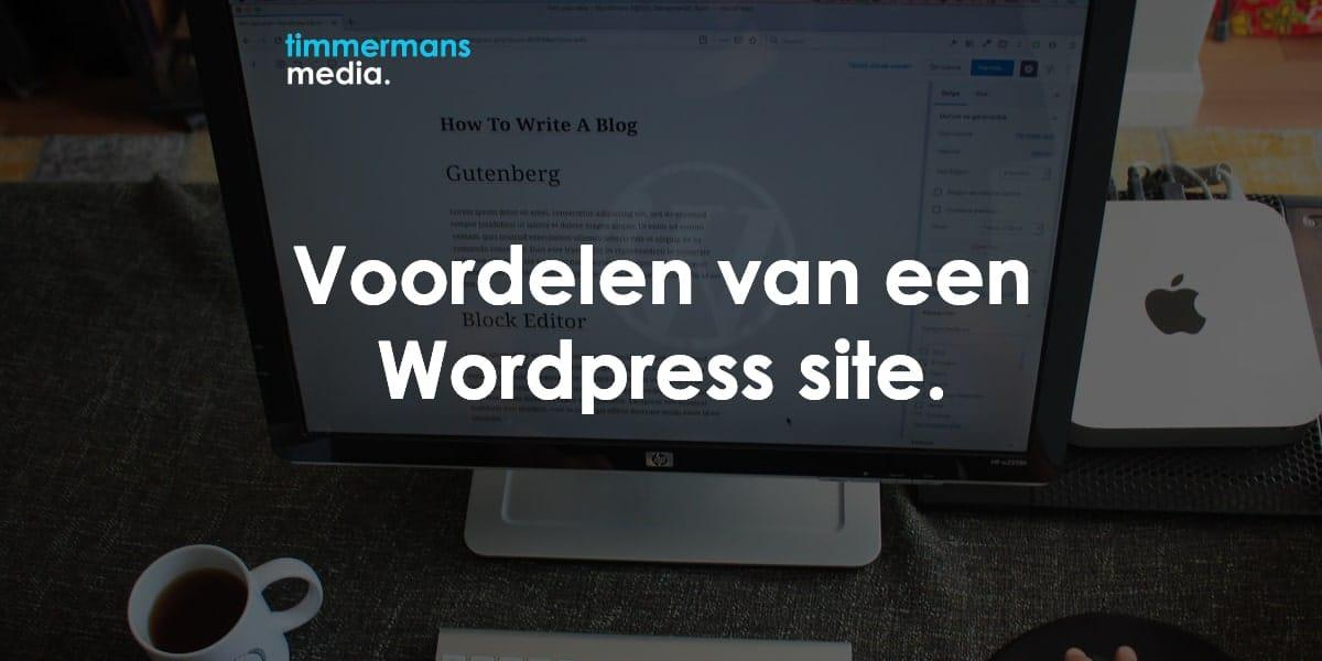 voordelen wordpress website