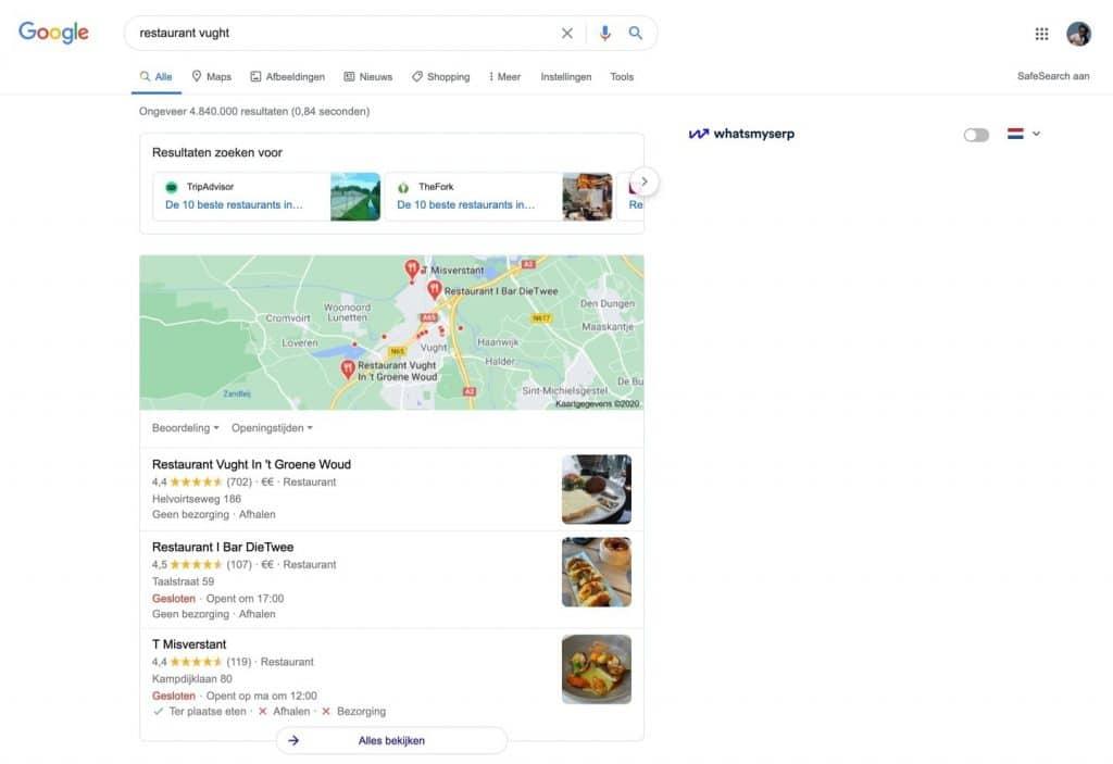 google mybusiness lokale seo