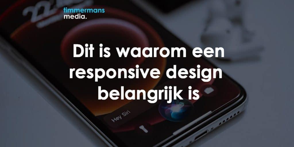 responsive design belangrijk