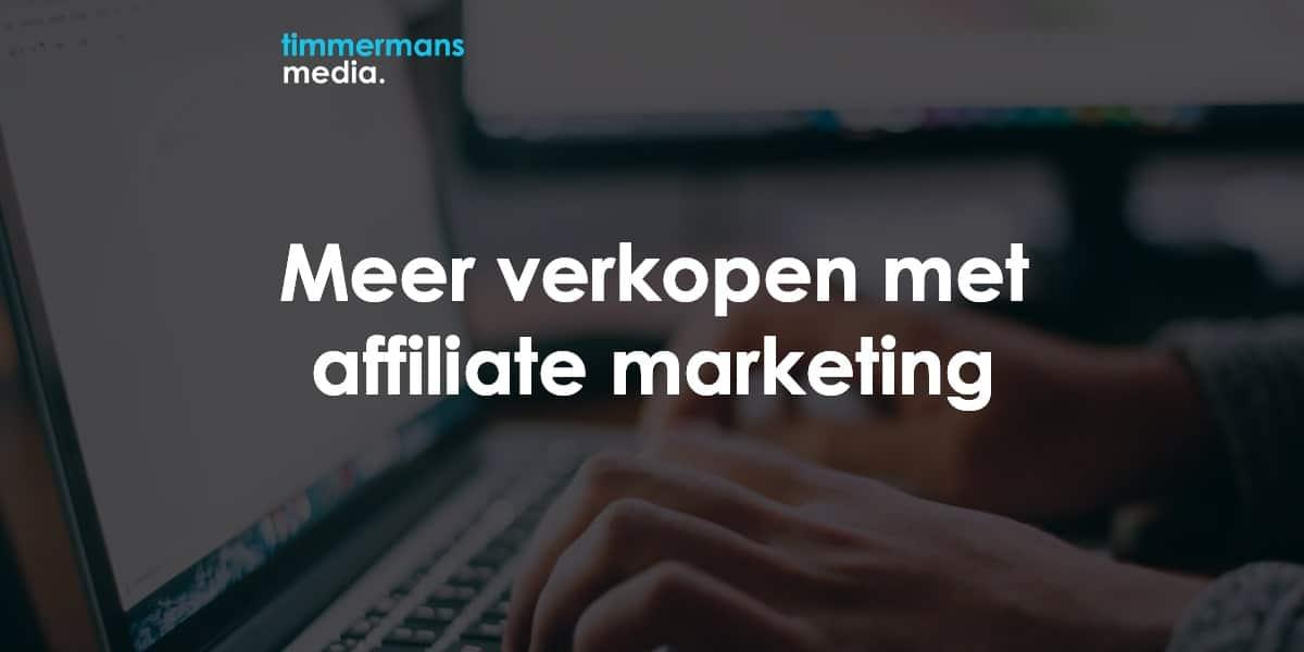 Affiliate marketing publisher