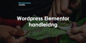 Wordpress elementor handleiding