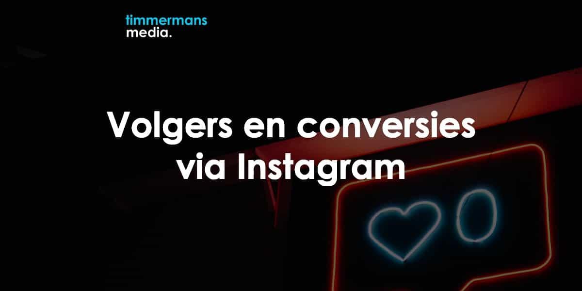 adverteren op instagram voor volgers