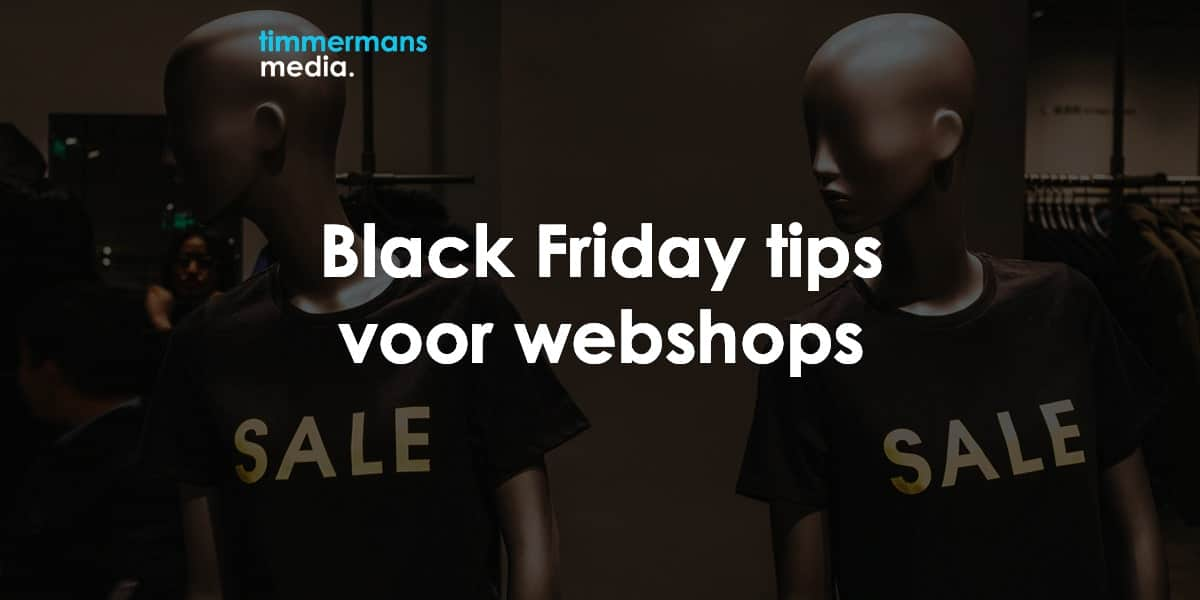 Black friday webshop