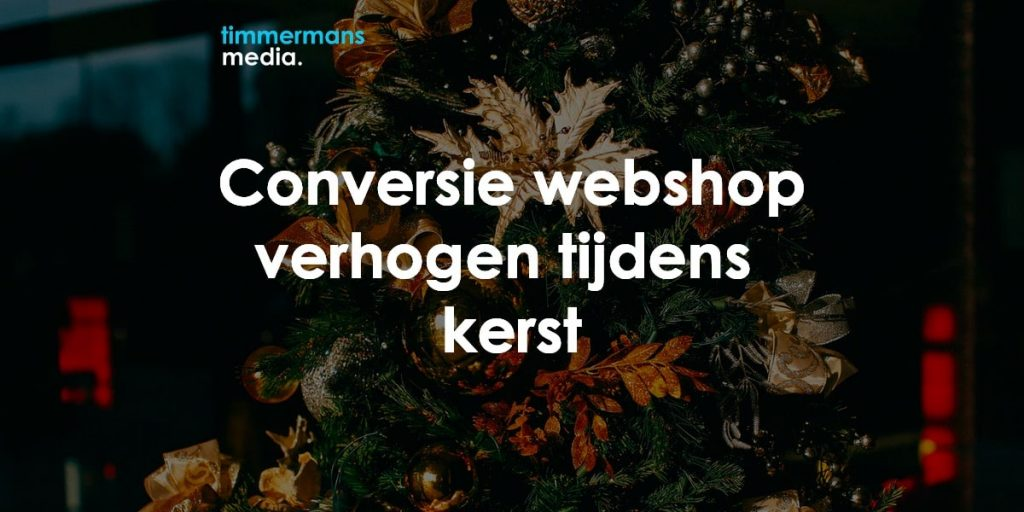 conversie verhogen webshop