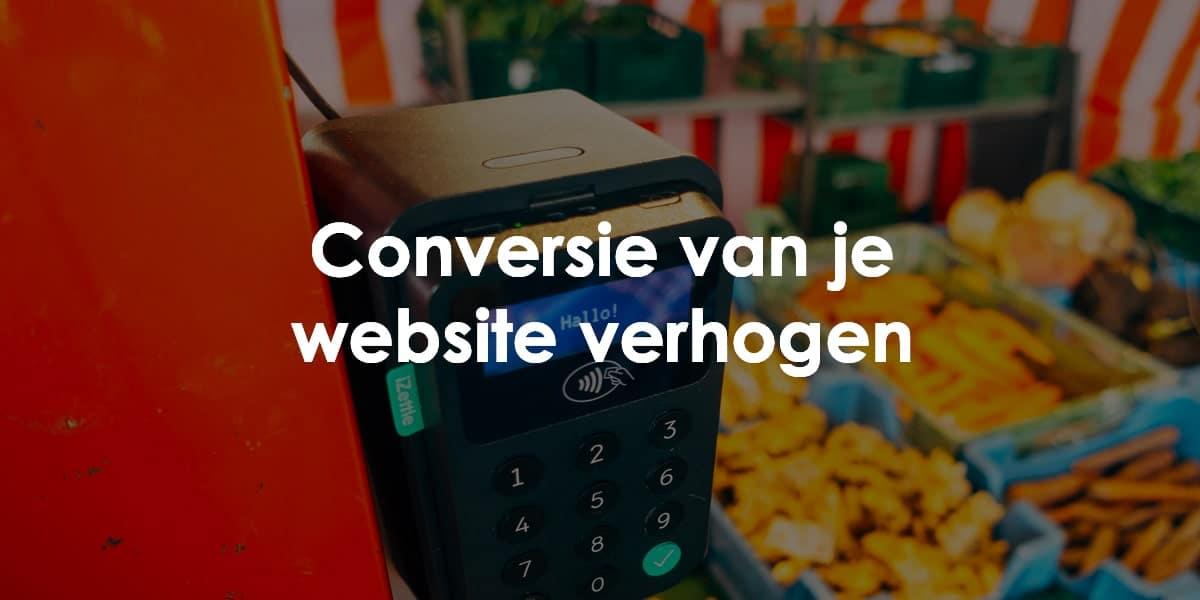 conversie verhogen website