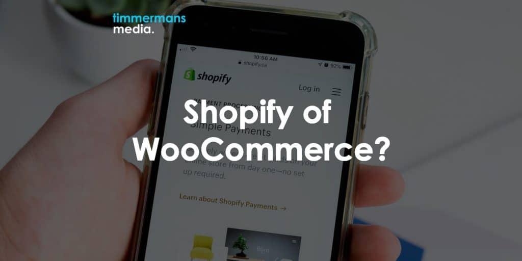 shopify of woocommerce