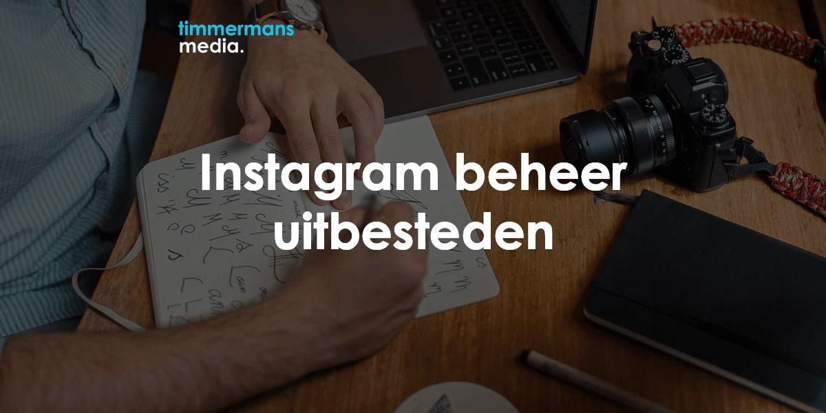 instagram beheer uitbesteden