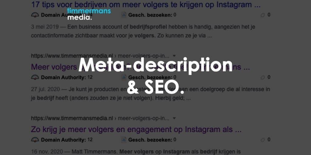 meta description seo