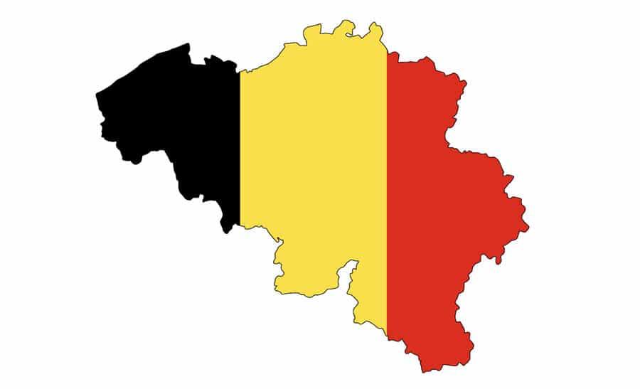 kaart belgië