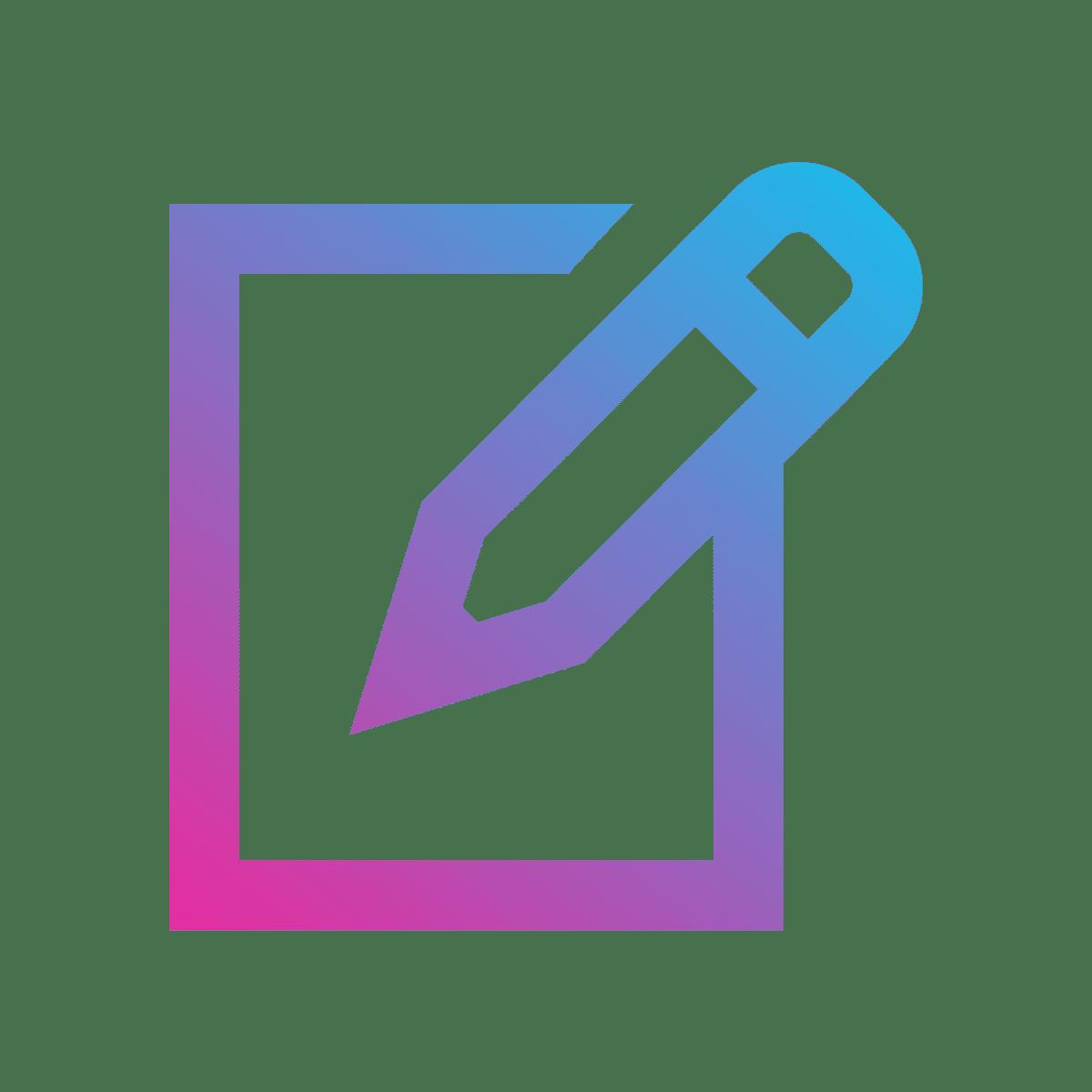 icon content schrijven