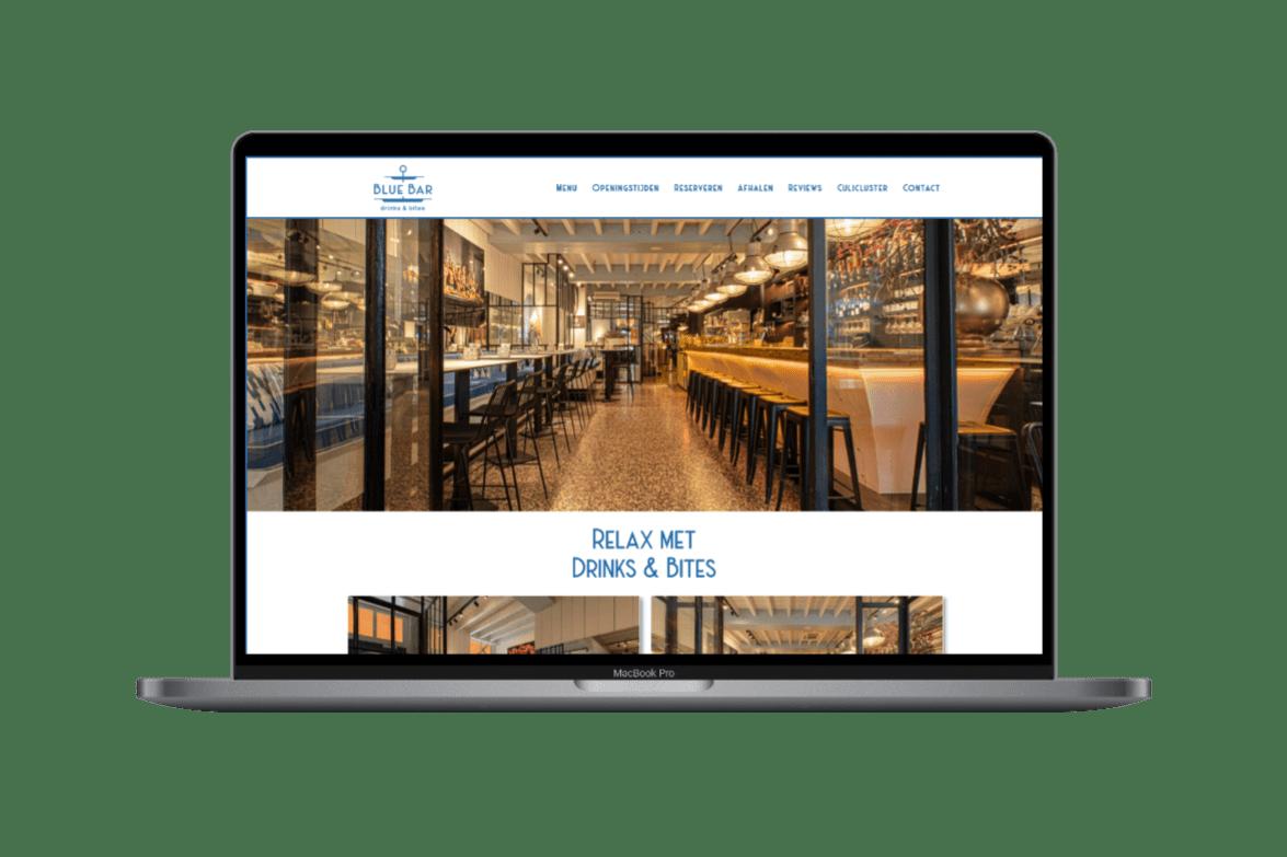 website van de blue bar oisterwijk